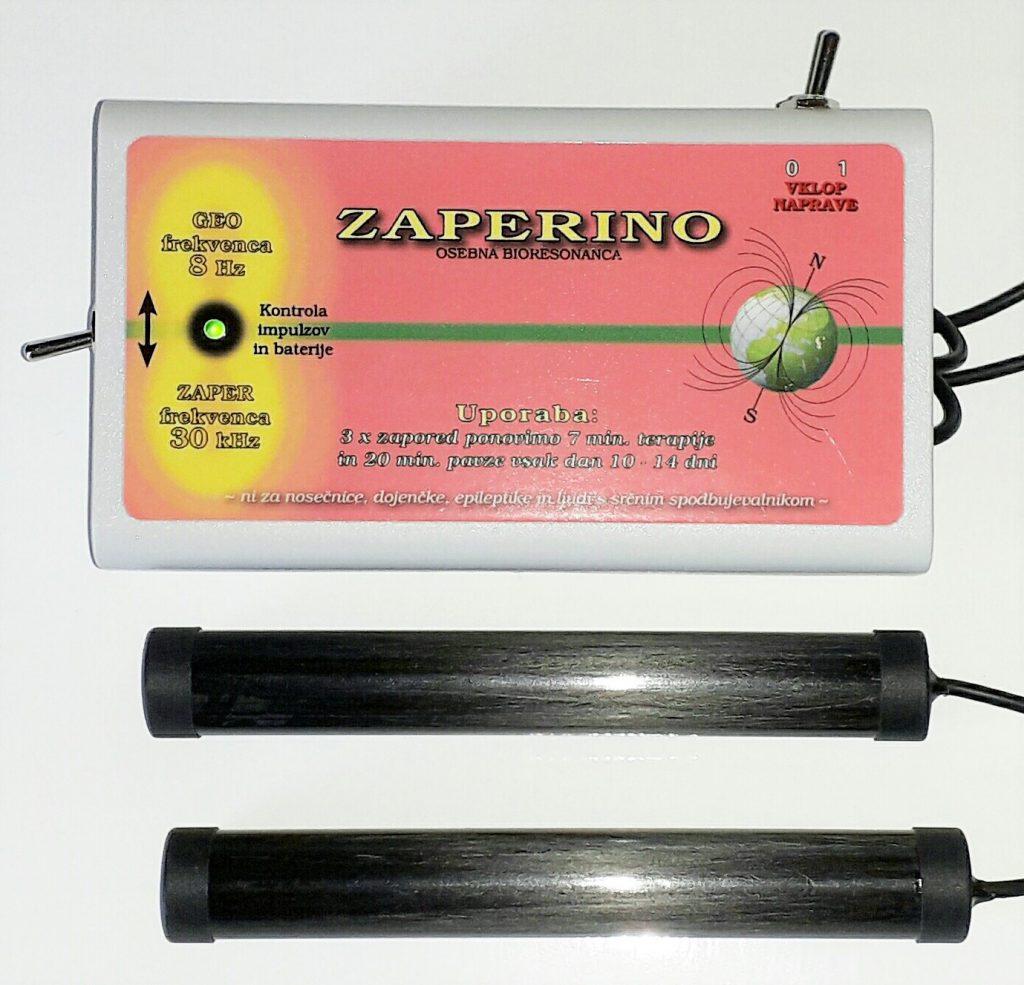 Pomladitev z Zaper Zaperino vibracijo, ki unici parazite in crno in orientalsko kumino