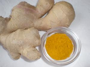 Antioksidantno razstrupljanje z ingverjem in kurkumo, skupaj z zaper terapijo