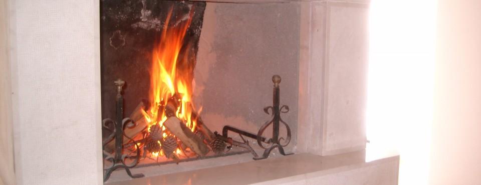Slika 261 kamin in ogenj