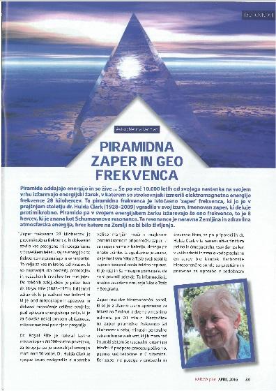 4a-Karmaplus april16 objava PIRAMIDNA ZAPER IN GEO FREKVENCA