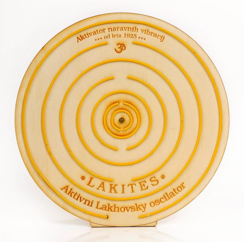 Lakites deluje na nosilni 30kHz zaper frekvenci proti virusom, bakterijam in parazitom