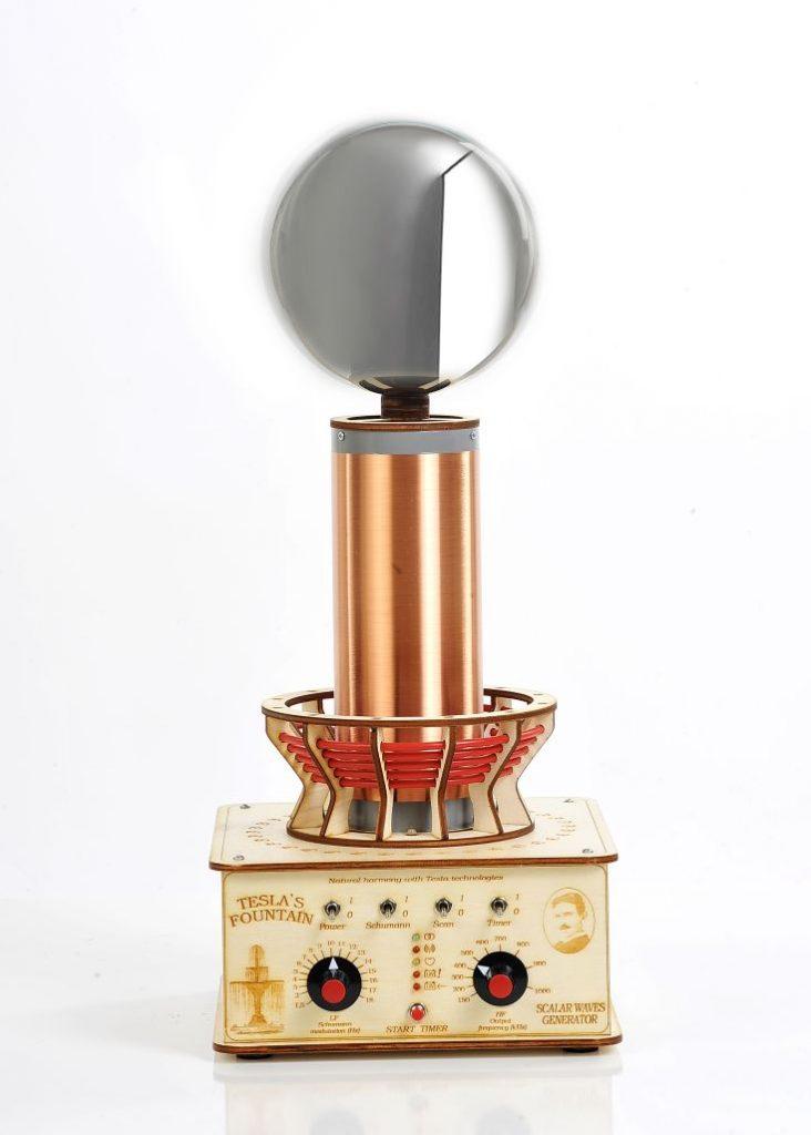 Teslov generator - Profesionalna Teslova fontana - samozdravilno Tesla Zaper Geo predavanje v Mariboru