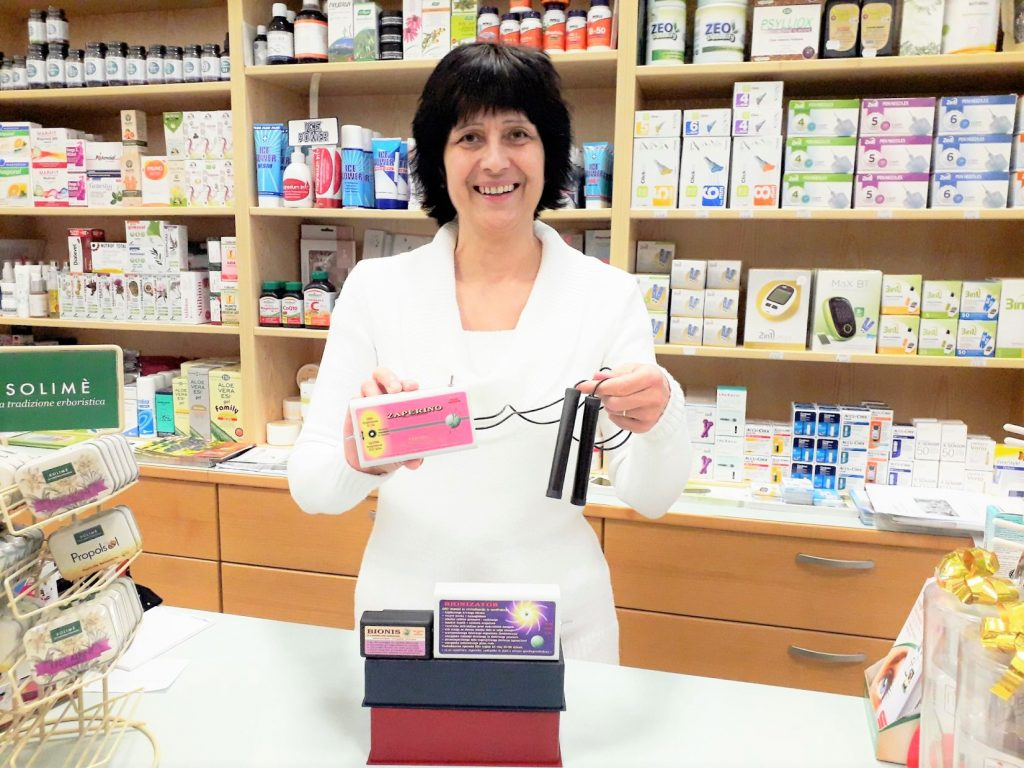 Zaper Zaperino v Medika Maribor medicinski trgovini uniči koronavirus