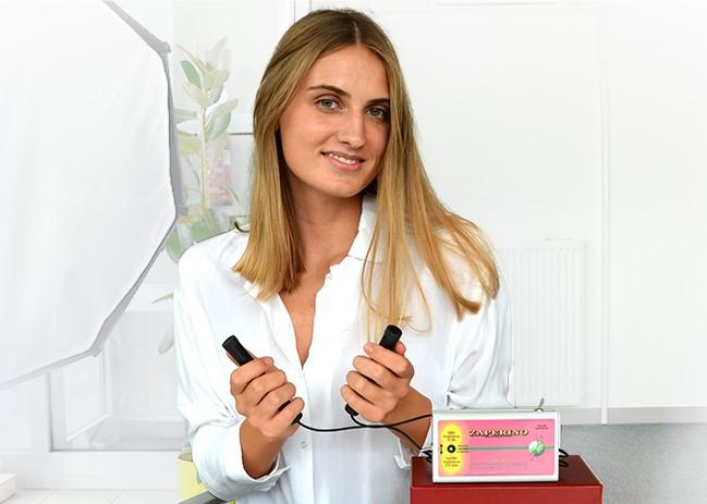 Naravne frekvence Zapper Zaper Zaperino terapija v rokah