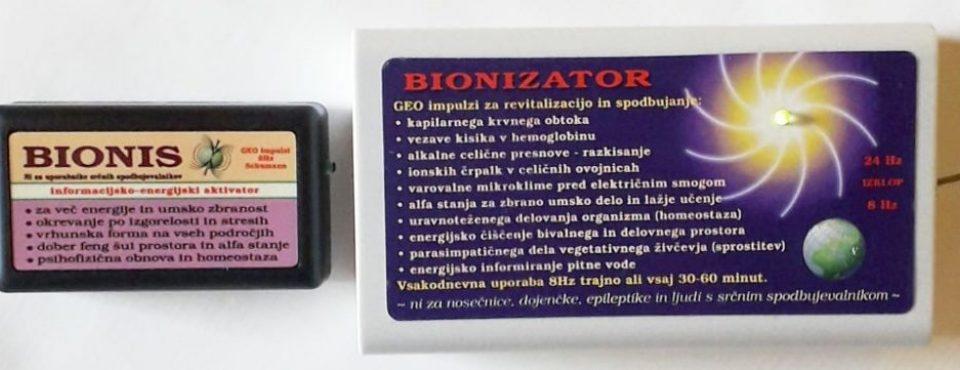 Bionis in Bionizator geo impulzi Schumann 8Hz pomagajo ko je zdravilna kriza
